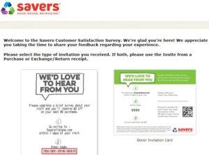 Saverslistens.com – Get $2 Off – Savers Survey