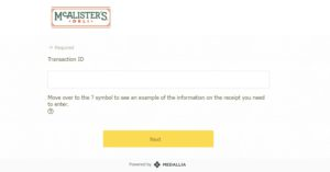 www.Talktomcalisters.com – Get Free Coupon Code – Mcalister's Deli Survey